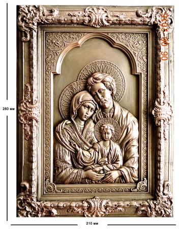 Панно Святое семейство.