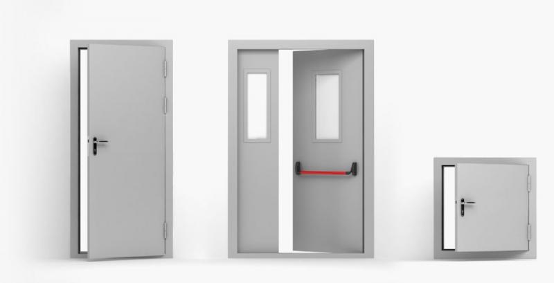 Двери противопожарные с пределом огнестойкости EI60