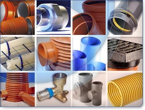 Скорлупа ППУ,Трубы ППУ, Трубы НПВХ для наружной канализации, НПВХ напорные трубы