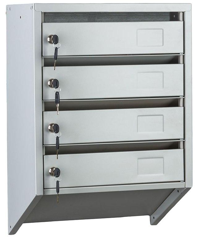 Ящики почтовые металлические для подъезда PB - 4