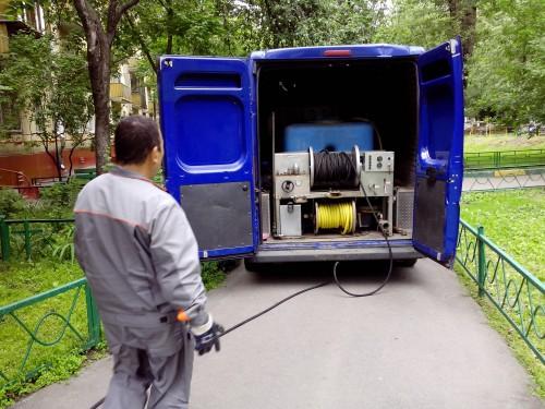 Аварийная прочистка канализации