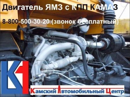 Переоборудование комплект установки двс Ямз на Камаз