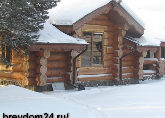 Рубленные дома и бани из бревна, поставки срубов