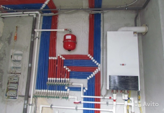 Монтаж систем отопления водоснабжения канализации
