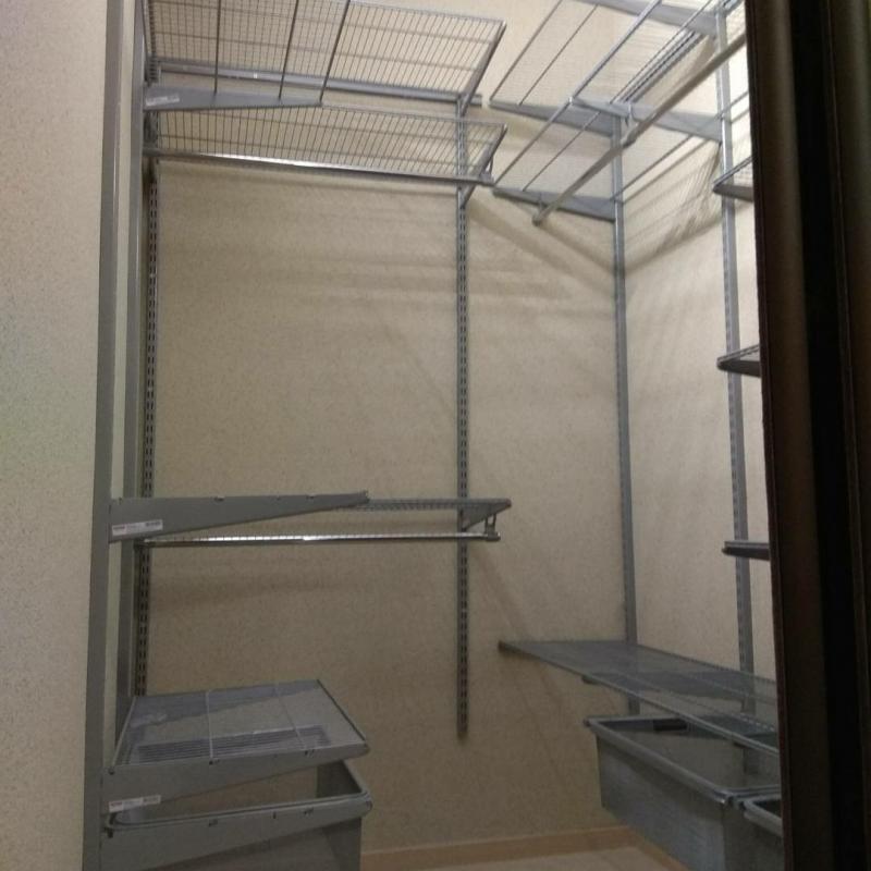 Гардеробные системы и шкафы купе