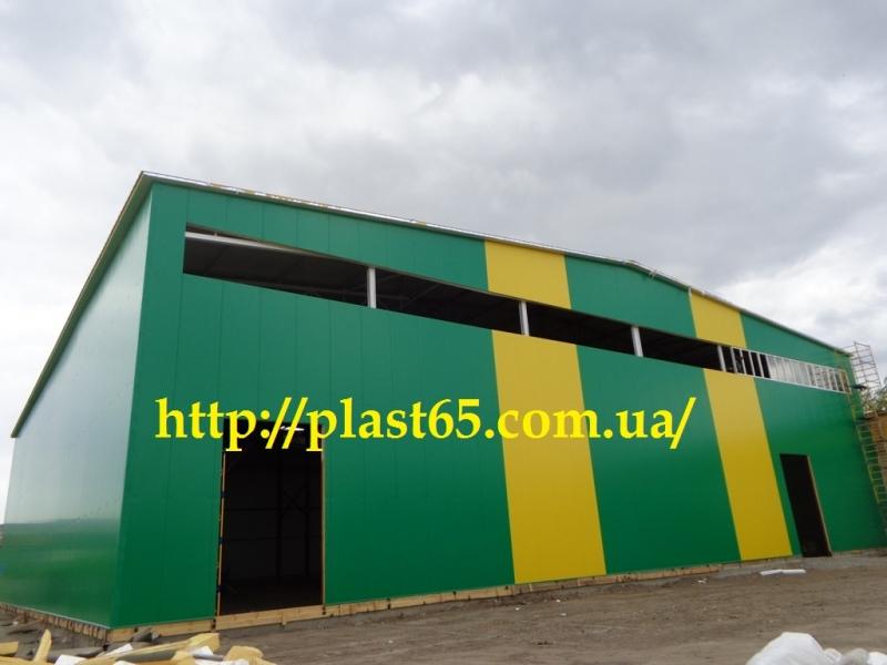 Строительство ангаров, складов, цехов, быстровозводимых зданий, сооружений.