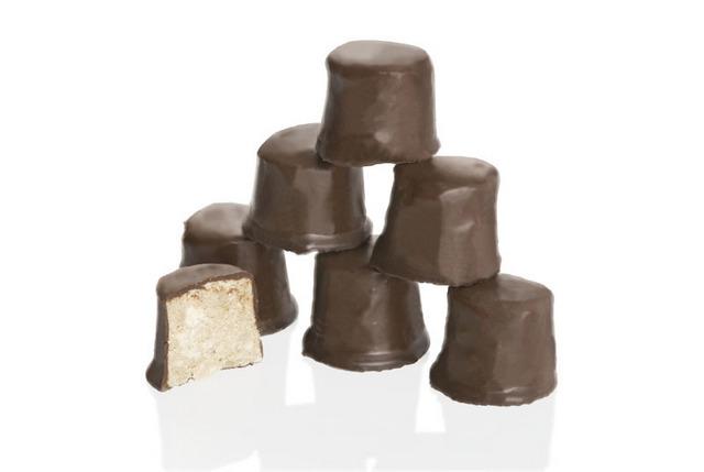 Производство халвы в шоколаде.