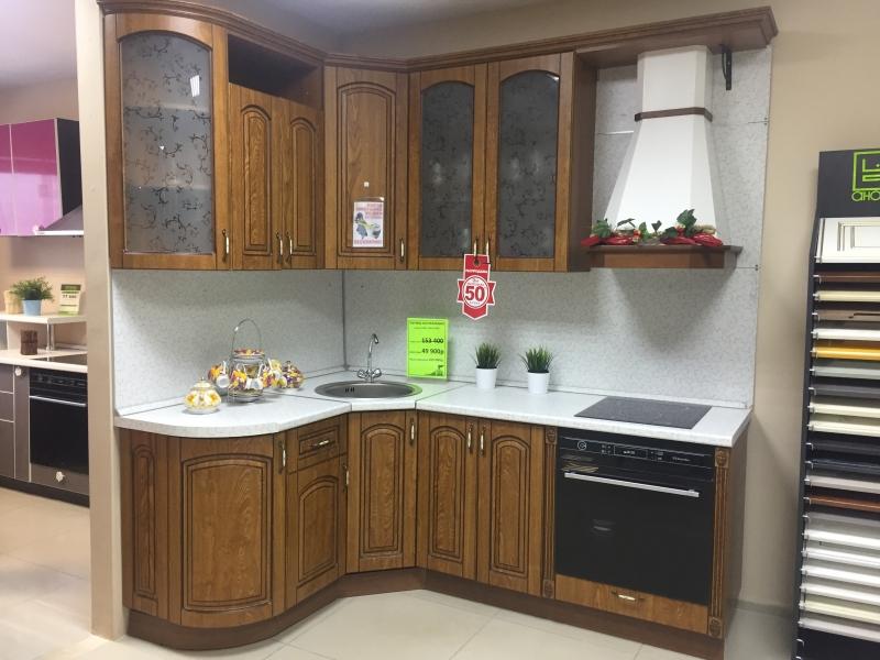 Угловая кухня Аркада 1500х2100 экономия 105 т.р