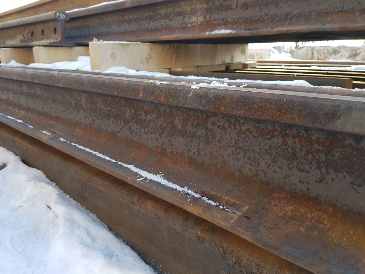 Рельсы Р 65 12,5 метров минимальный износ, подкладки и любые всп от 28500 руб