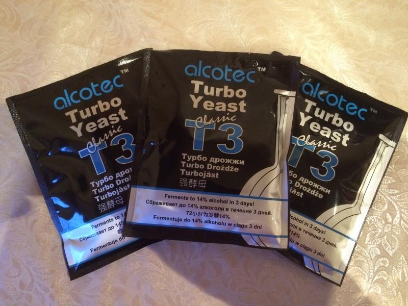 Спиртовые  дрожжи Alcotec Classic Turbo 3