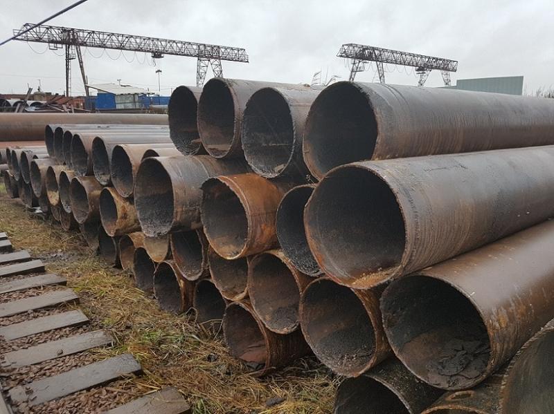 Трубы лежалые и трубы БУ по низким ценам в Санкт-Петербурге.