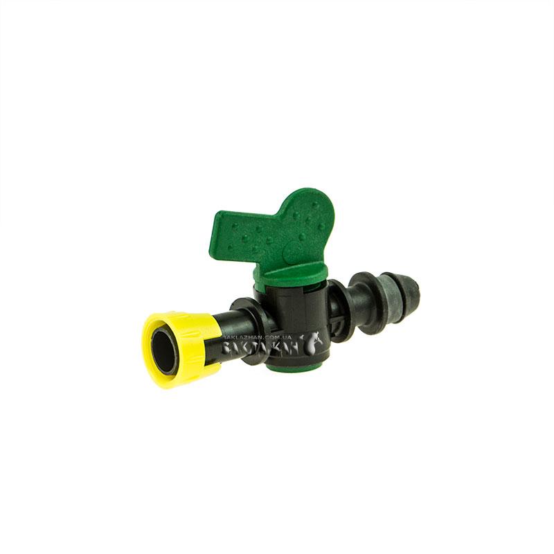 Кран IRRITEC Легкий блок с впаянной резинкой для капельного полива