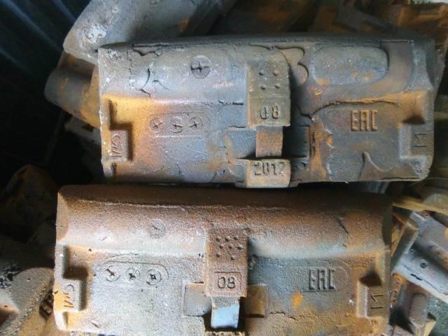 Колодка чугунная гребневая тип М для локомотивов ГОСТ 30249-97 новая-2017г., с