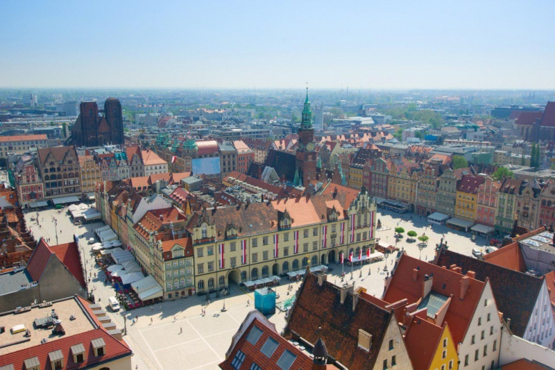 Продатся функционирующий торговый центр с арендаторами в Польше.