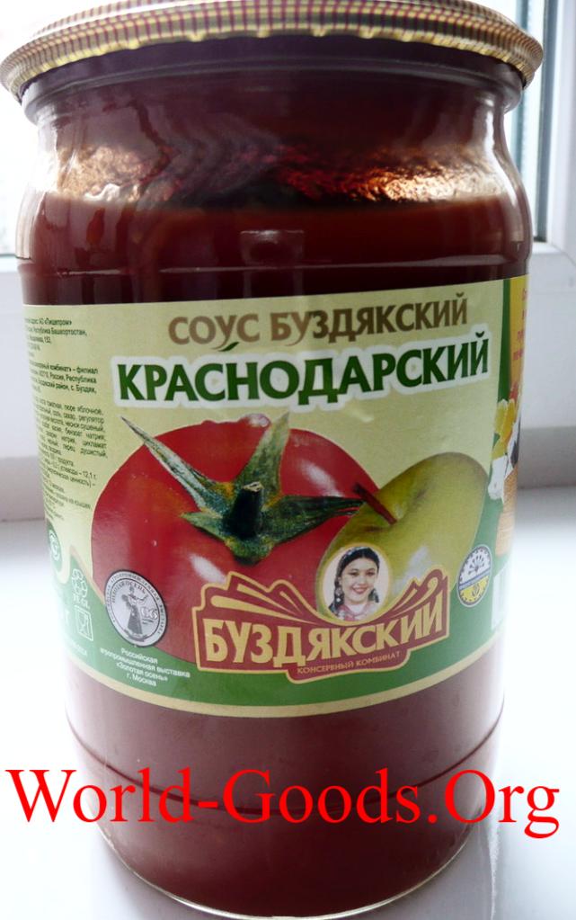 Соус томатный Краснодарский