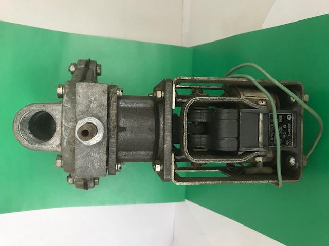 Клапан газовый электромагнитный КГ-10