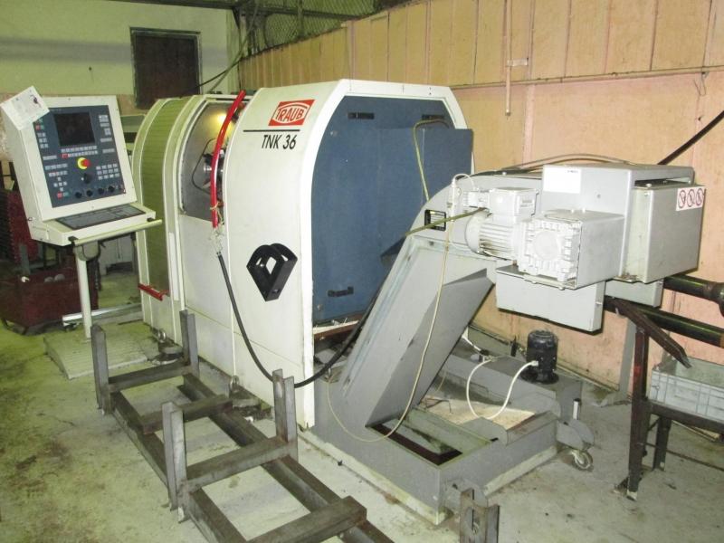 Полуавтомат токарный 1П756ДФ321 Автомат токарный SLT400 с ЧПУ MITSUBISHI ...