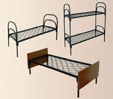Кровати армейские одноярусные,  металлические кровати двухъярусные