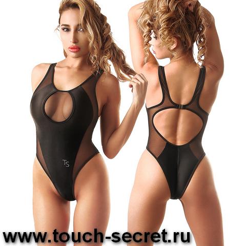 Сплошной спортивный красивый черный модный слитный купальник боди монокини для б
