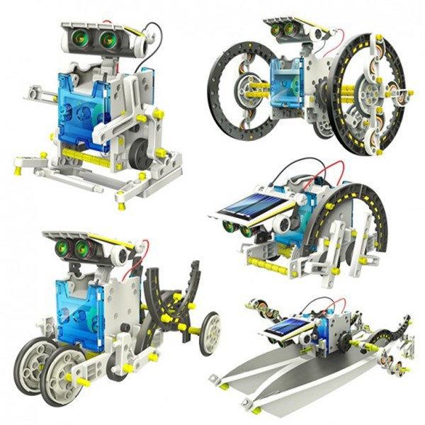 Детская развивающая игрушка  робот-конструктор 14 в 1