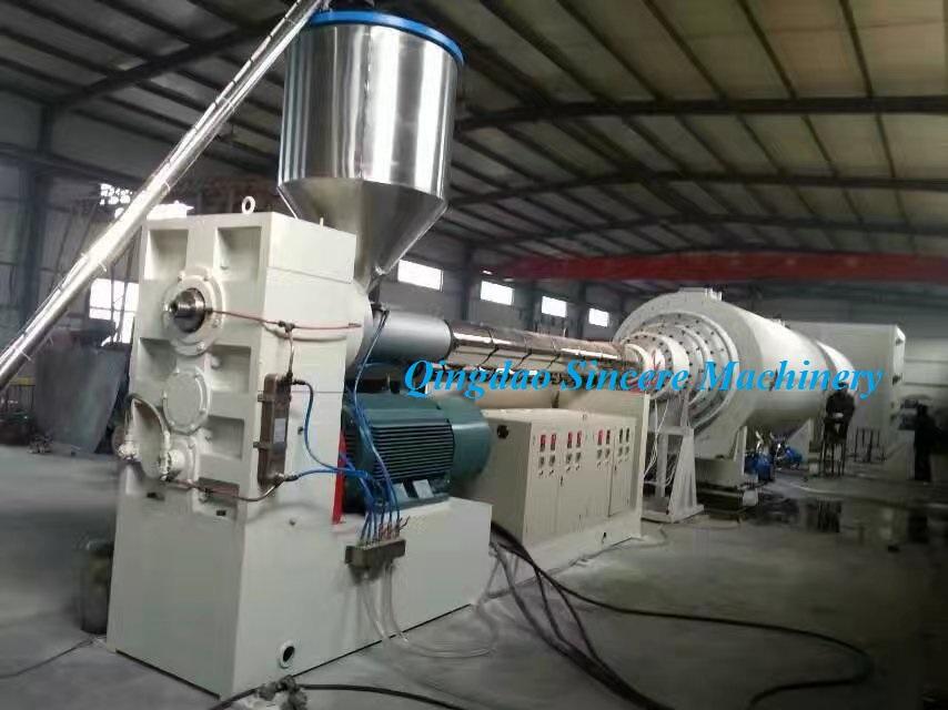 Линия производства водных или газовых труб из ПНД 400мм 630мм