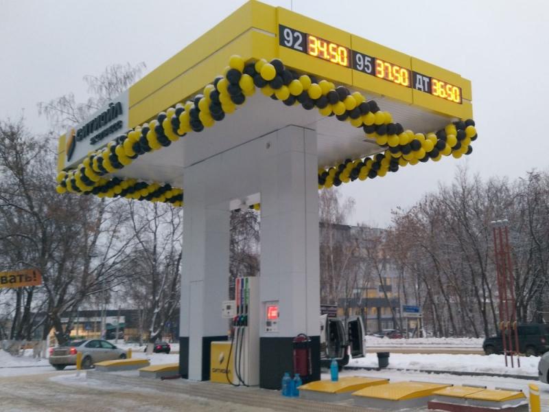Производство автоматических Мини АЗС Benza