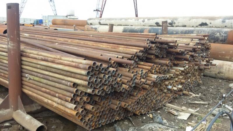 Труба бу 60, 76 на забор, Сваи винтовые, металлоконструкции, трубопроводы