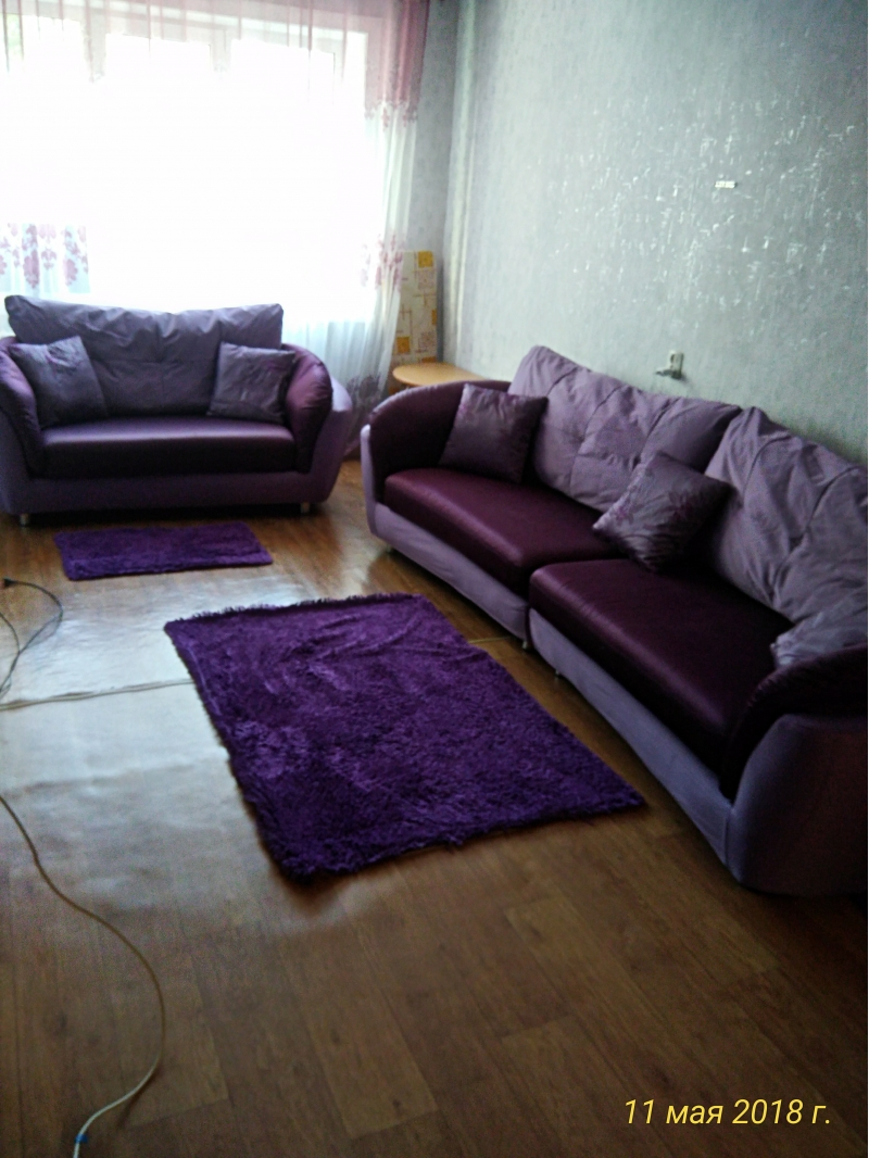 Комплект мягкой мебели для гостинной