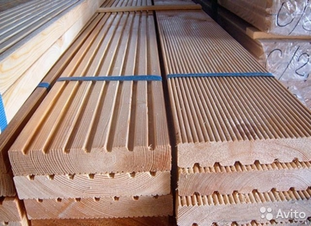 Продаем террасную доску из  древесины лиственницы от производителя