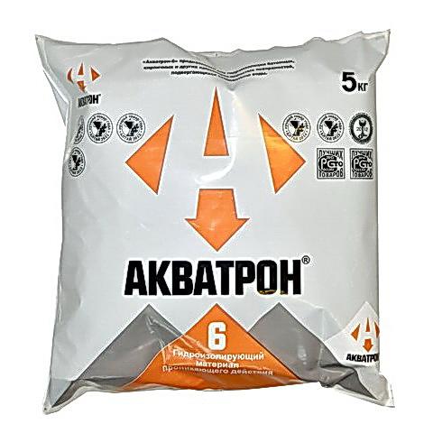 АКВАТРОН-6 проникающая гидроизоляция