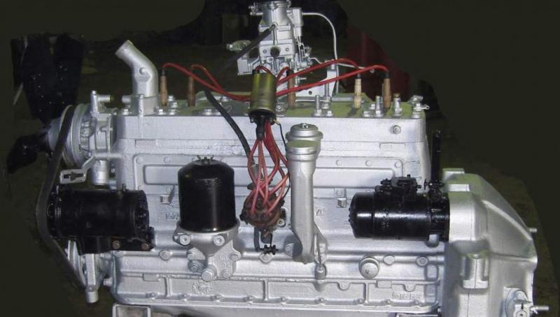 Двигатель ЗИЛ-157 с хранения, без наработки, 1982 г.в.