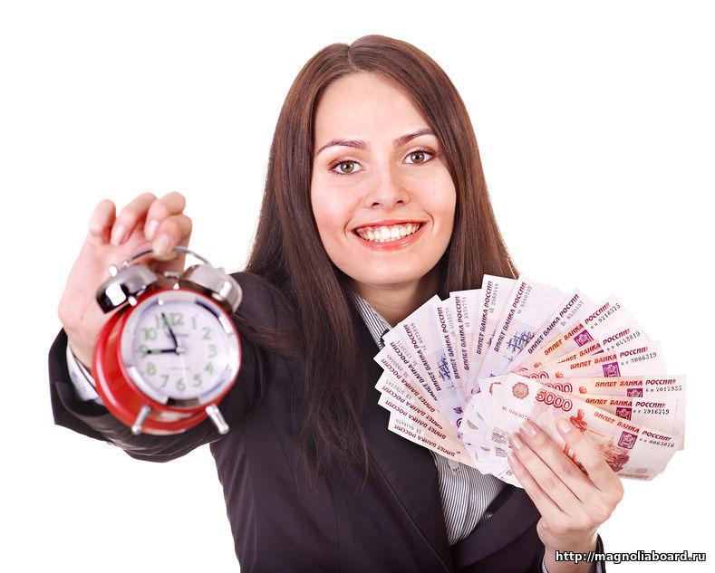 кредит наличными в течение дня