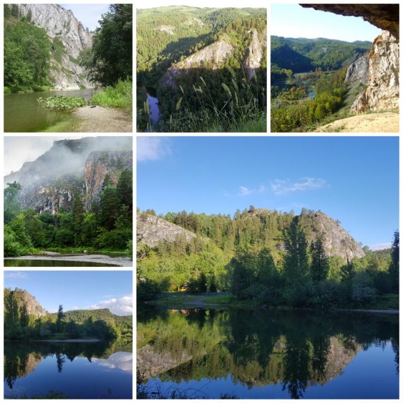 природный парк Мурадымовское ущелье