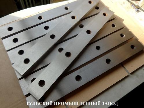 Купить в Москве и Туле ножи для гильотинных ножниц  510х60х20 Комплекты ножей в