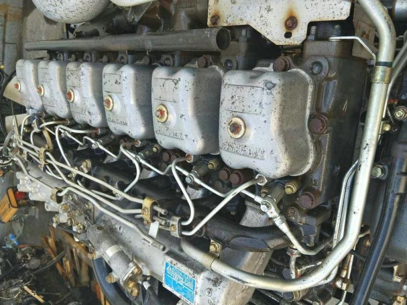 Двигатель Mitsubishi 6D24-0AT2