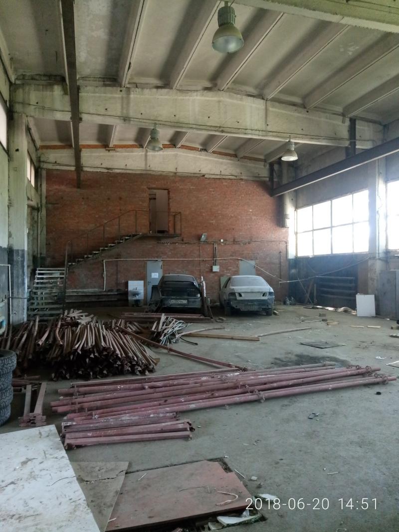 Помещение под склад, автосервис, производство - 700кв.м.