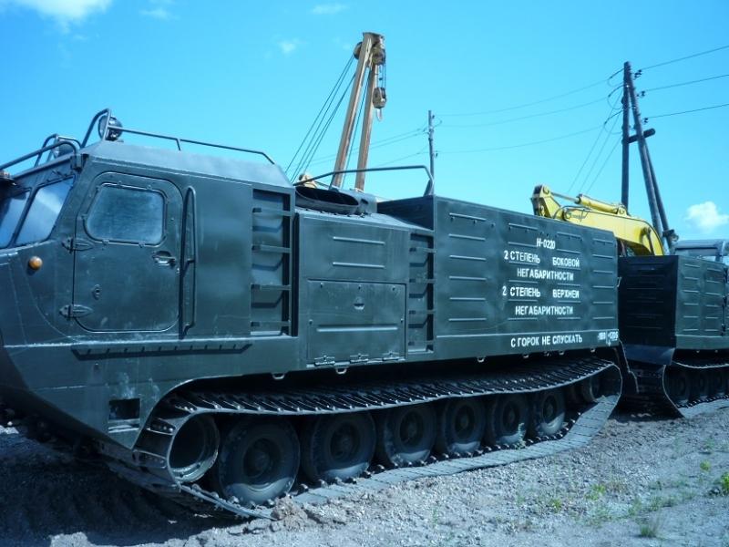 Вездеход ДТ-30ПЭ-1 Витязь
