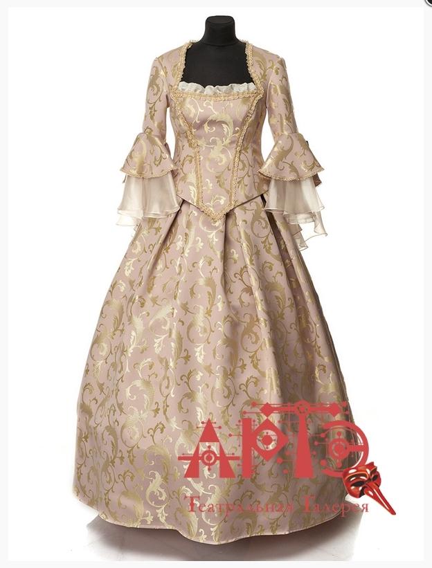 Платье в стиле Рококо