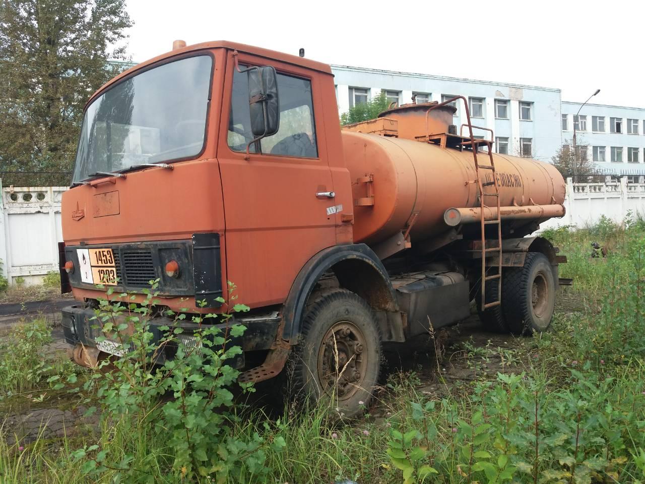 Продается топливозаправщик на МАЗ 5337