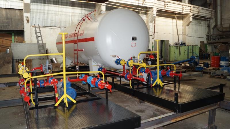 Установка газовая моноблочная 5 м3 по 750000 рублей