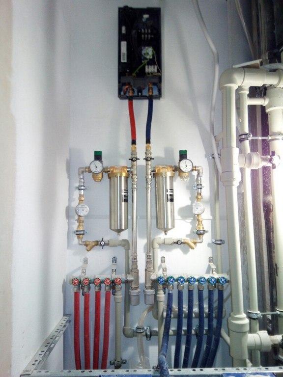 Отопление загородных домов под ключ
