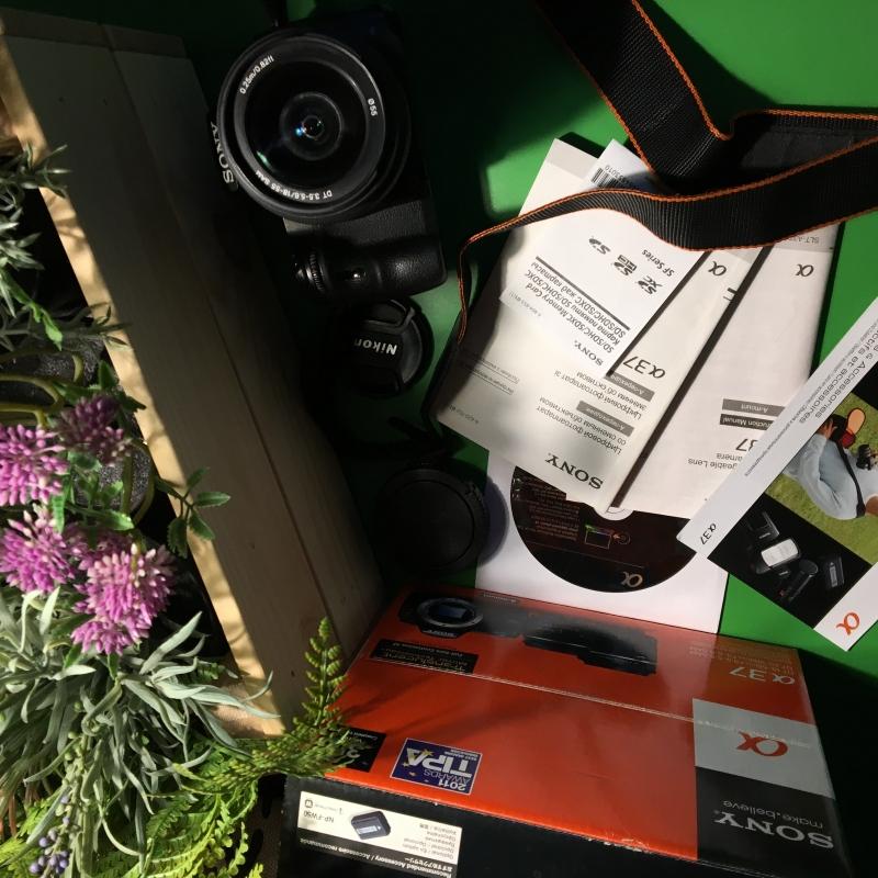 Фотоаппарат Sony A37  подарки