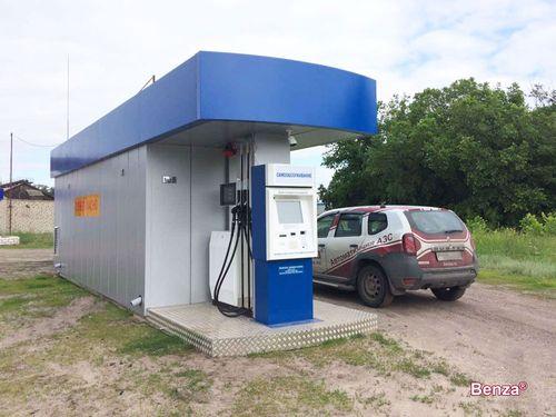 Резервуары контейнерных АЗС Benza