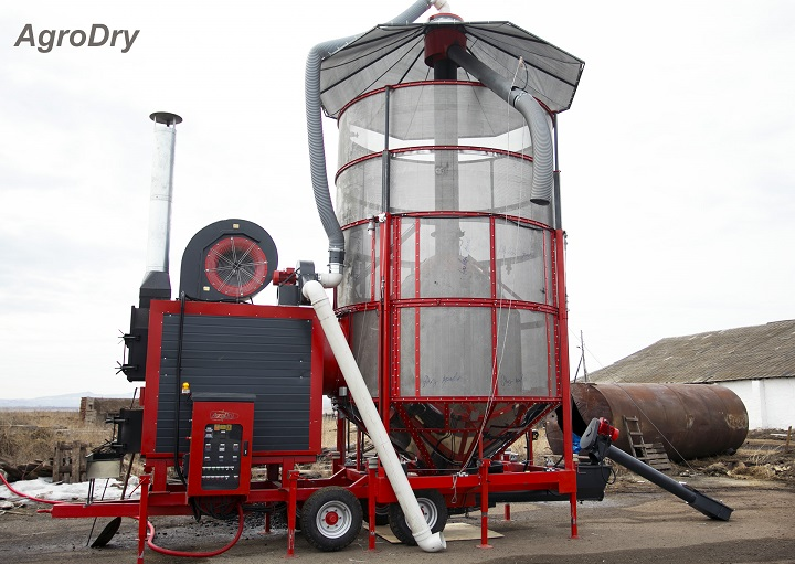 Зерносушилка на углепеллетах - AgroDry TKM-33SF