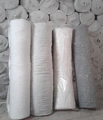 Нетканое холстопрошивное полотно ХПП , обтирочный материал