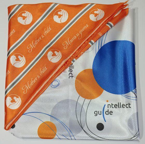 Корпоративные галстуки с лого