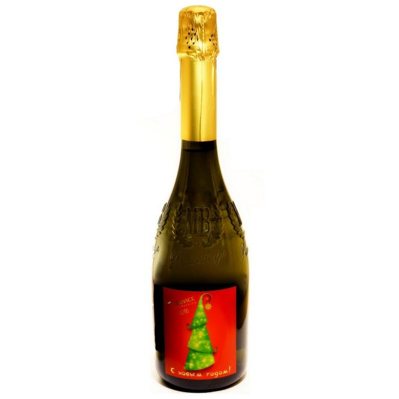 Брендирование бутылок  ваш логотип на шампанском