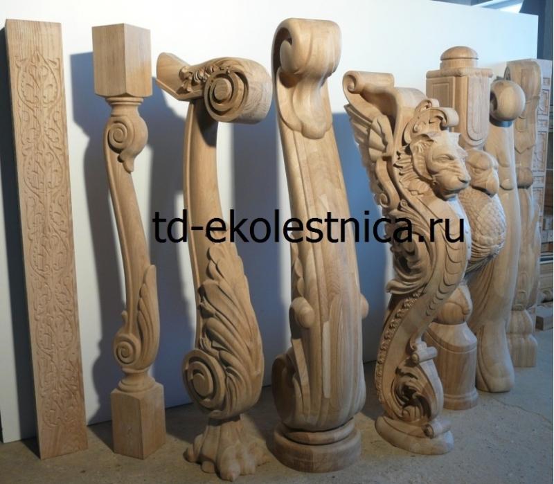 Резной декор из дерева