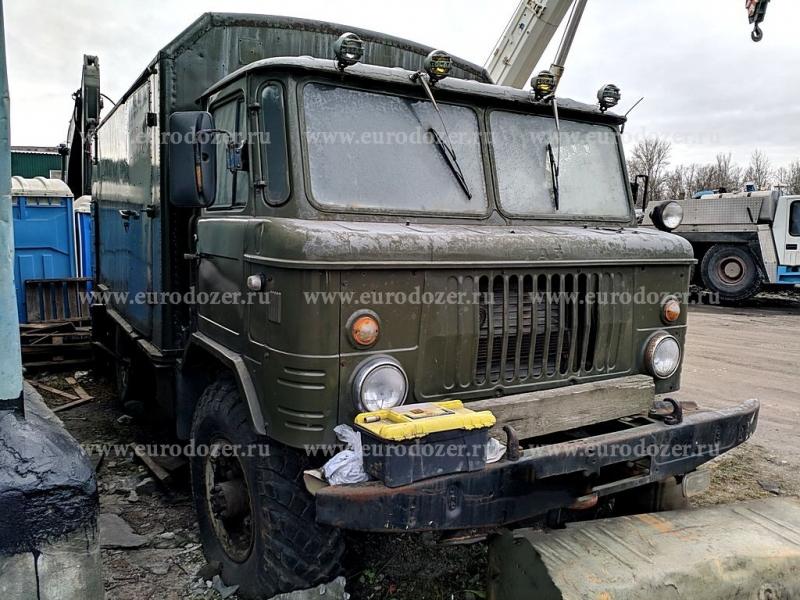 Армейский фургон - кунг ГАЗ 66