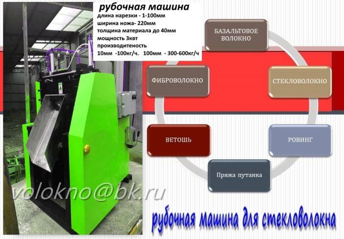 рубочная машина для стеклОволокна.  Минск